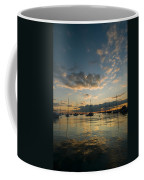 Chicago Harbor Sunrise Coffee Mug