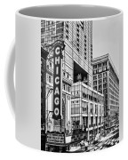 Chicago In Black And White Coffee Mug