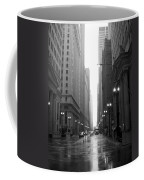 Chicago In The Rain 2 B-w Coffee Mug