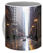 Chicago In The Rain Coffee Mug