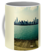 Chicago Lake Michigan Skyline Coffee Mug
