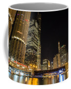 Chicago - Looking East From Dearborn Street Coffee Mug