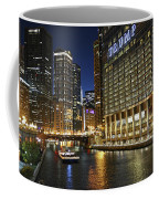 Chicago Night Lights Coffee Mug