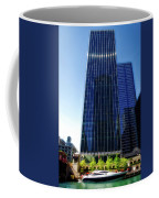 Chicago Parked On The River By 320 River Bar Coffee Mug
