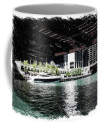 Chicago Parked On The River In June 03 Pa 01 Coffee Mug