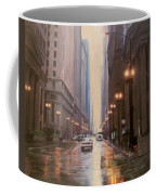 Chicago Rainy Street Coffee Mug