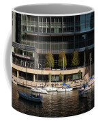 Chicago River Boats Coffee Mug