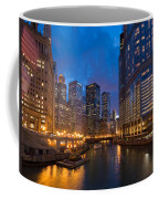 Chicago River Lights Coffee Mug