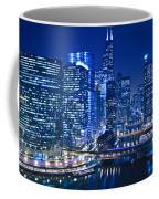 Chicago River Panorama Coffee Mug