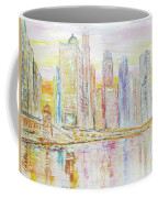 Chicago River Skyline Coffee Mug