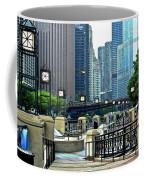 Chicago River Walk Invites You Coffee Mug