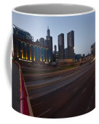 Chicago Skyline And Expressway Coffee Mug