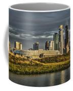 Chicago Skyline And Nature Preserve At Sunrise Coffee Mug