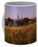 Chicago Skyline And Neighborhood Prairie Coffee Mug