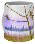 Chicago Skyline - The View From Montrose Point Coffee Mug