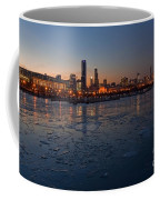 Chicago Skyline At Dusk Coffee Mug