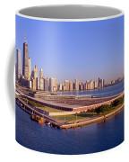 Chicago Skyline, Filtration Plant Coffee Mug