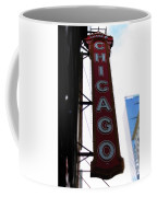 Chicago Theater Sign Coffee Mug