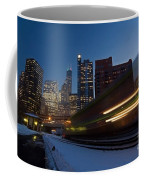 Chicago Train Blur Coffee Mug