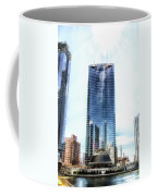 Chicago Under Construction On The River 02 Coffee Mug