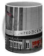 Chicago United Center Signage Sc Coffee Mug