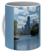 Chicago - View From Lincoln Park Lagoon Coffee Mug