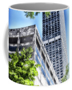 Chicago Water Tower Place Facade And Signage Coffee Mug