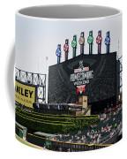 Chicago White Sox Home Coming Weekend Scoreboard Coffee Mug