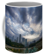 Chicago's Buckingham Fountain When It's Turned Off Coffee Mug