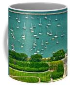 Chicago's Dusable Harbor  Coffee Mug