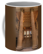 Chicagos Union Station Entry Coffee Mug
