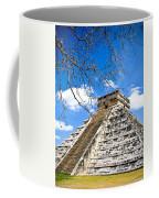 Chichen Itza And Tree Coffee Mug