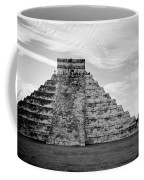 Chichen Itza B-w Coffee Mug