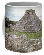 Chichen Itza Draw-like Coffee Mug