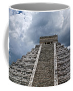 Chichen-itza Pyrmid In Mexico Coffee Mug