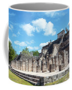 Chichen Itza Temple Of The Warriors Coffee Mug