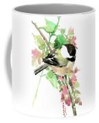 Chickadee And Spring Blossom Coffee Mug