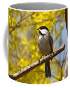 Chickadee In Spring Coffee Mug