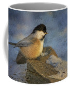 Chickadee Winter Perch Coffee Mug