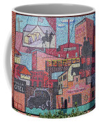 Chickasaw Ballpark Mosaic Wall Coffee Mug