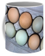 Chicken Eggs In Carton Coffee Mug