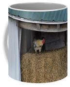 Chicken In Barn Coffee Mug