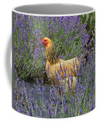 Chicken In The Lavender Coffee Mug
