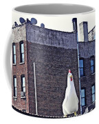 Chicken Little In Manhattan Coffee Mug
