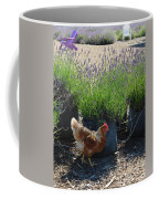 Chicken With Lavender  Coffee Mug