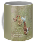 Chickens With Attitude  Coffee Mug