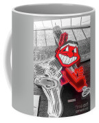 Chief Wahoo Sluggin Coffee Mug