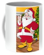 Chiefs Santa Claus Coffee Mug