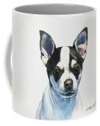 Chihuahua Black Spots With White Coffee Mug
