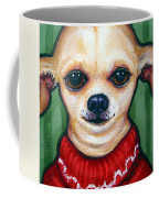 Chihuahua In Red Sweater - Boss Dog Coffee Mug